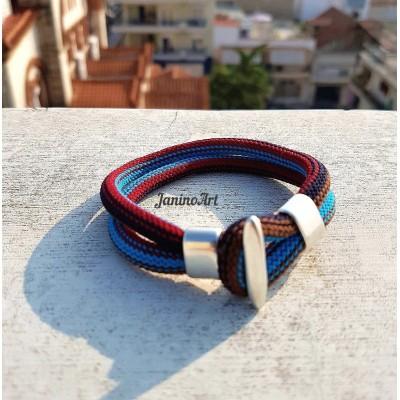 Βραχιόλι - Knitted rope