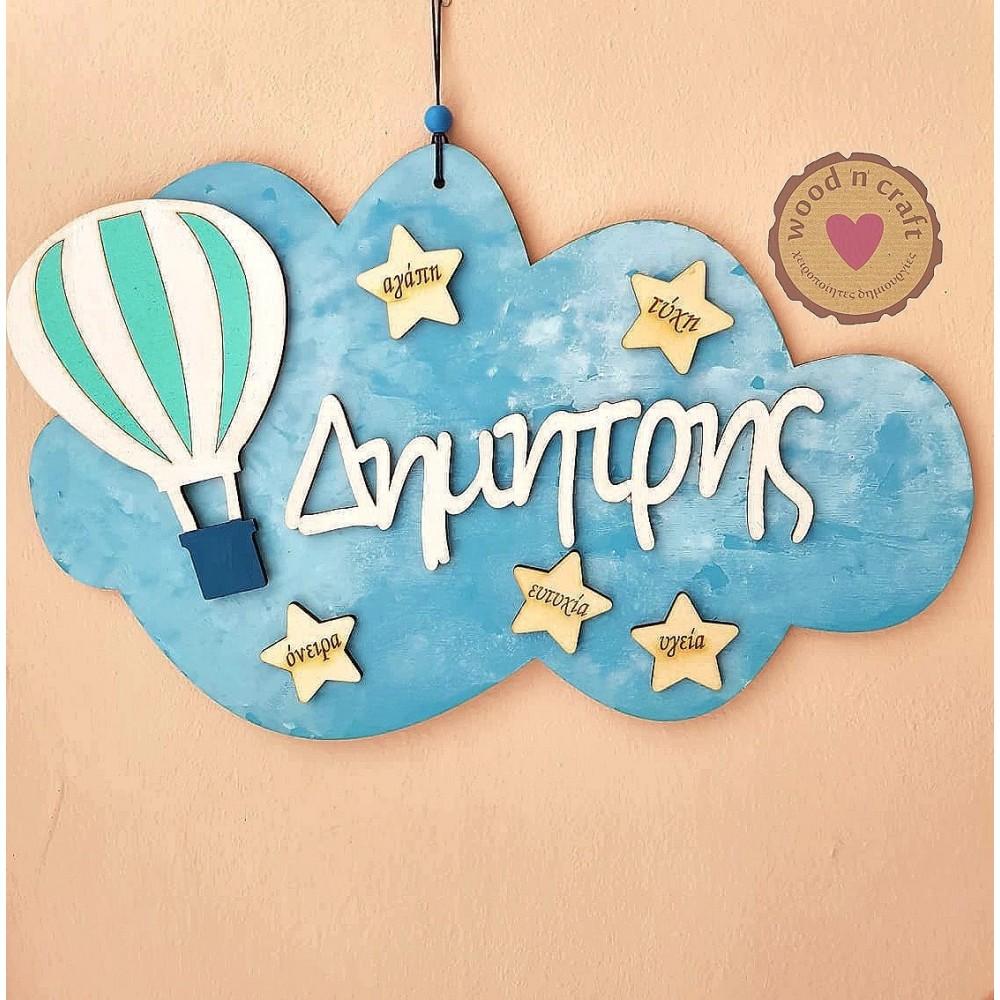 Αναμνηστικό σύννεφο - Αερόστατο