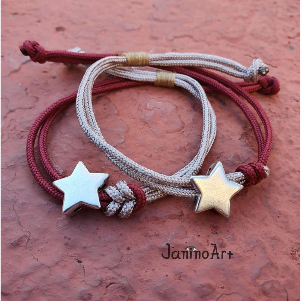 Σετ Βραχιολάκια - Cords and Stars