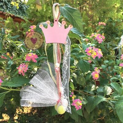 Κρεμαστή Μπομπονιέρα - Το Στέμμα της Πριγκίπισσας