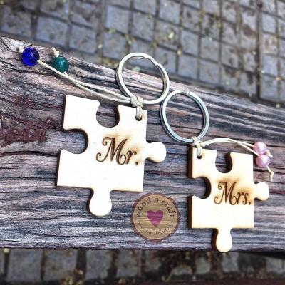 Σετ Μπρελόκ - Mr and Mrs Puzzle