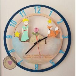 Ξύλινο Ρολόι - Μικρός Πρίγκιπας