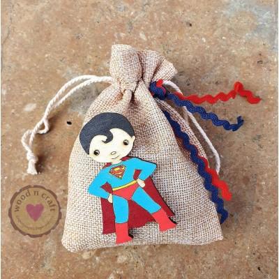 Μπομπονιέρα Πουγκί - Superboy