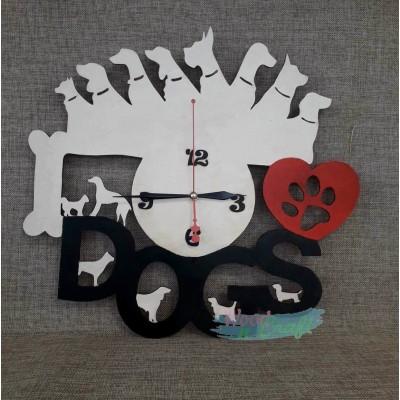 Ρολόι I Love Dogs