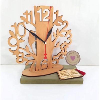 Ξύλινο Ρολόι - Το δέντρο της γνώσης