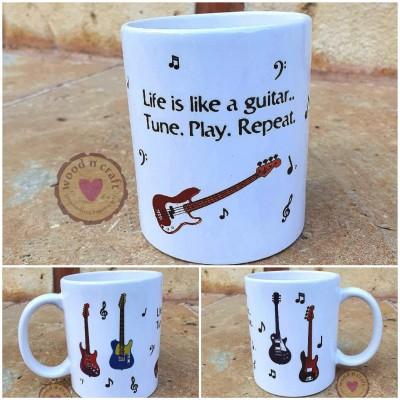 Κούπα - Life is like a guitar