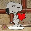 Ξύλινη Φιγούρα - Σνούπι Καρδιά