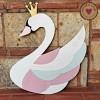 Ξύλινη Φιγούρα - Swan