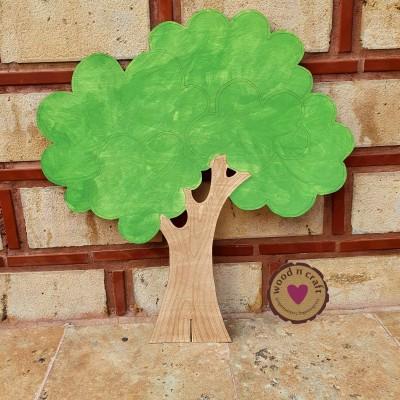Ξύλινη Φιγούρα -  Δέντρο