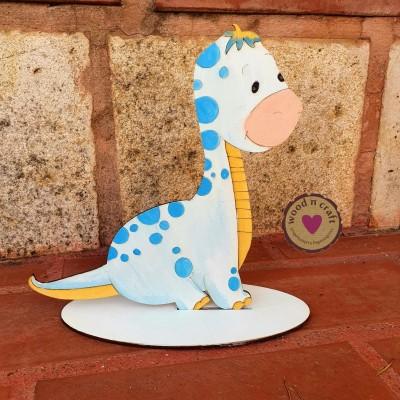 Ξύλινη Φιγούρα - Δεινοσαυράκι Μωρό