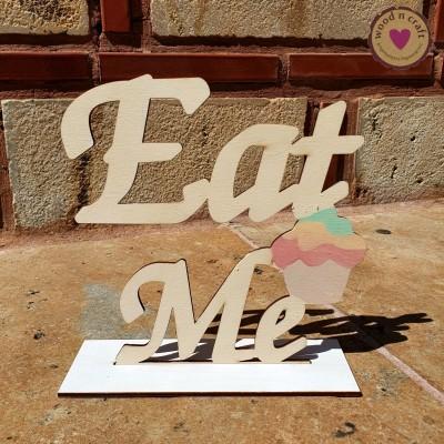 Ξύλινο Σταντ - Eat Me