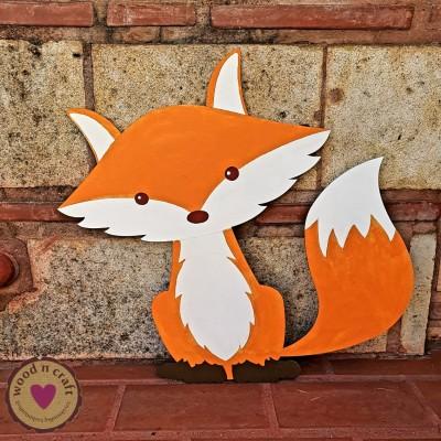 Ξύλινη Φιγούρα - Αλεπού μικρού πρίγκιπα