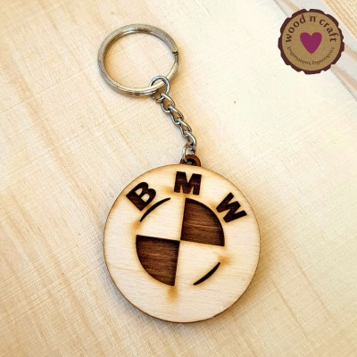 Ξύλινο Μπρελόκ - BMW
