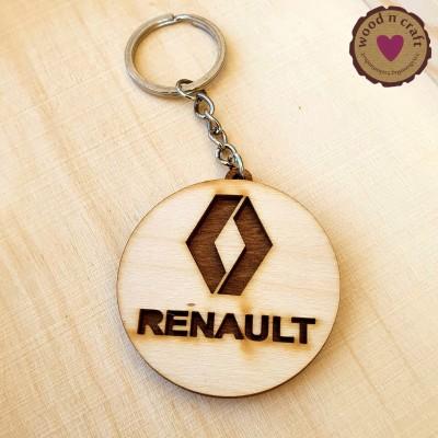 Ξύλινο Μπρελόκ - Renault