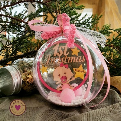 Μπάλα Στολίδι - Baby s First Christmas
