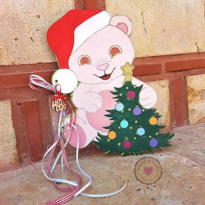 Βιβλίο ευχών - Christmas bear