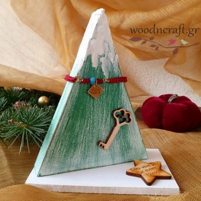 Handmade lucky set - Snowy tree