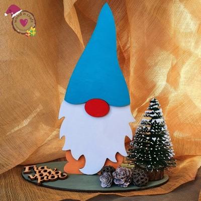 Χριστουγεννιάτικο διακοσμητικό - Wood n Gnome