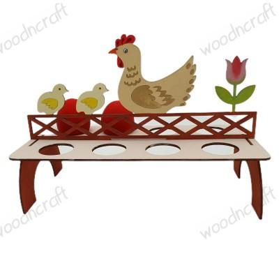 Ξύλινη θήκη για πασχαλινά αυγά - Hencoop