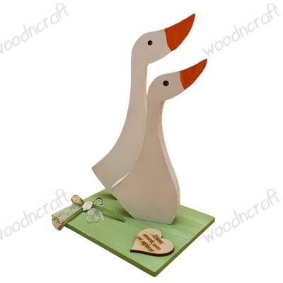 Χειροποίητο διακοσμητικό - Couple of ducks