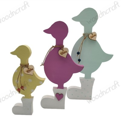 Family διακοσμητικό - Πάπιες με γαλότσες