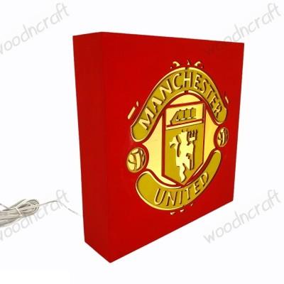 Ξύλινο φωτιστικό - Manchester United