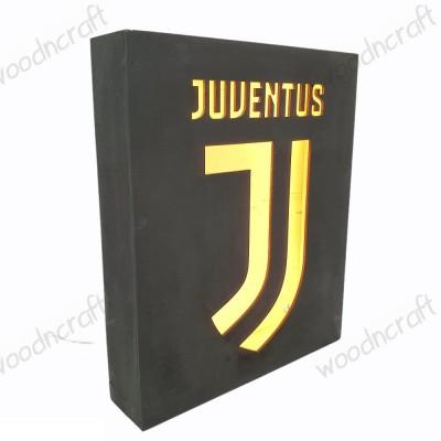 Ξύλινο φωτιστικό - Juventus