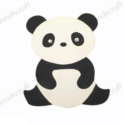 Ξύλινη φιγούρα - Αρκουδάκι πάντα