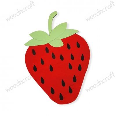 Ξύλινη φιγούρα - Φράουλα