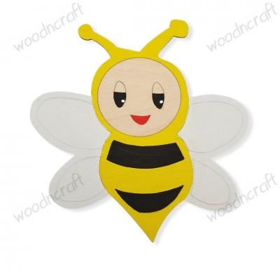 Ξύλινη φιγούρα - Μέλισσα - Woodncraft.gr