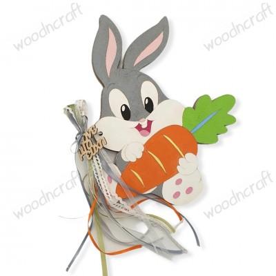 Βιβλίο ευχών - Baby Bunny - Woodncraft.gr