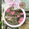 Στεφανάκι με Καρδούλες στη Μαμά μου την καλή που την Αγαπώ πολύ
