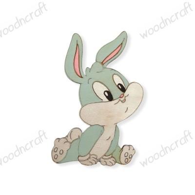 Ξύλινη φιγούρα - Baby Bugs Bunny - Woodncraft.gr