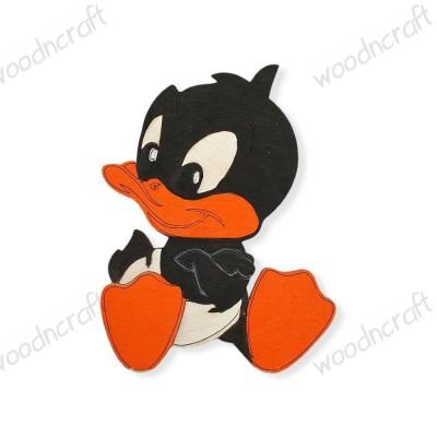Ξύλινη φιγούρα - Baby Daffy - Woodncraft.gr