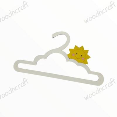 Κρεμάστρα βάφτισης - Ήλιος χαμογελαστός - Woodncraft.gr