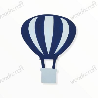 Ξύλινη Φιγούρα - Αερόστατο