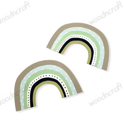 Ξύλινη φιγούρα - Rainbow - Woodncraft.gr