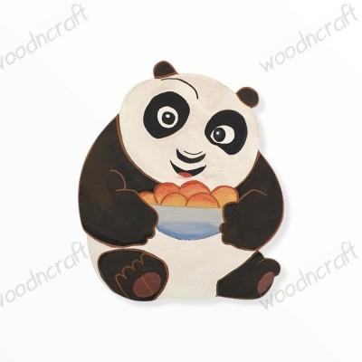 Ξύλινη φιγούρα - Kung fu panda baby - Woodncraft.gr