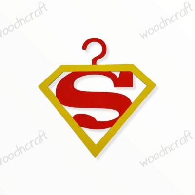 Κρεμάστρα βάφτισης - Superman - Woodncraft.gr