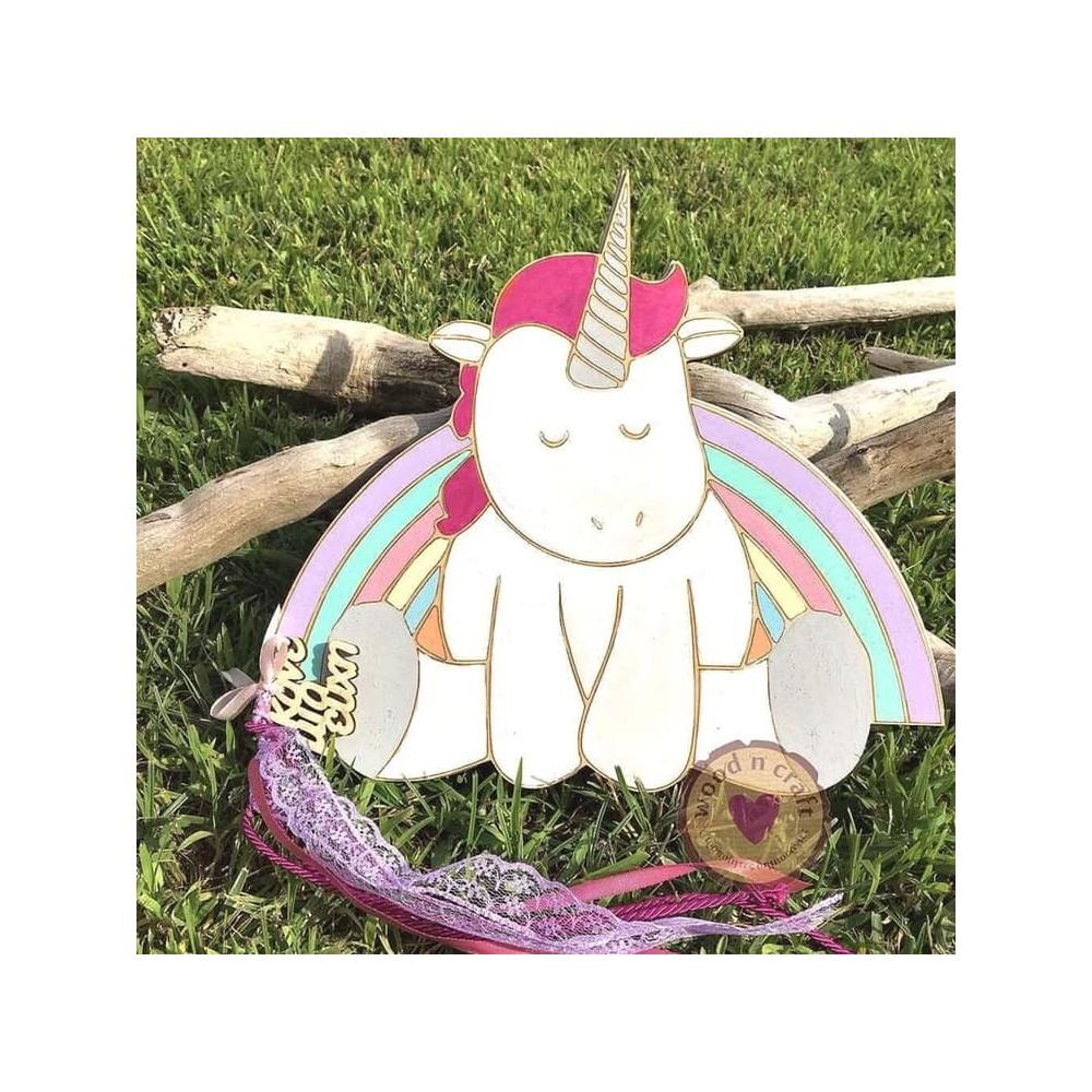 Βιβλίο ευχών - Rainbow unicorn
