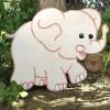 Ξύλινη Φιγούρα Ελέφαντας