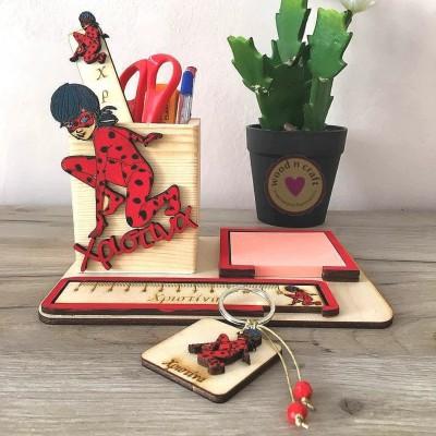 Σχολικό Σετ Γραφείου - Lady Bug
